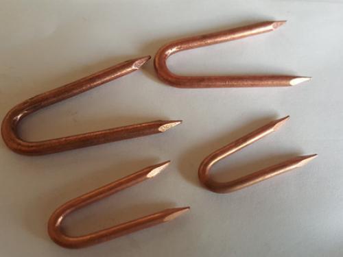 U型卡钉C系列-镀铜U型钉